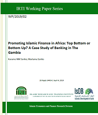 Promoting Islamic Finance in Africa: Top Bottom or Bottom Up? A Case Study of Banking in The Gambia